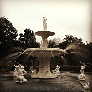 Forsythe Park Fountain - blog