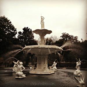 Forsythe Park Fountain - blog