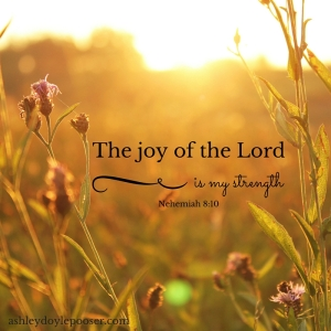 The joy of the Lord
