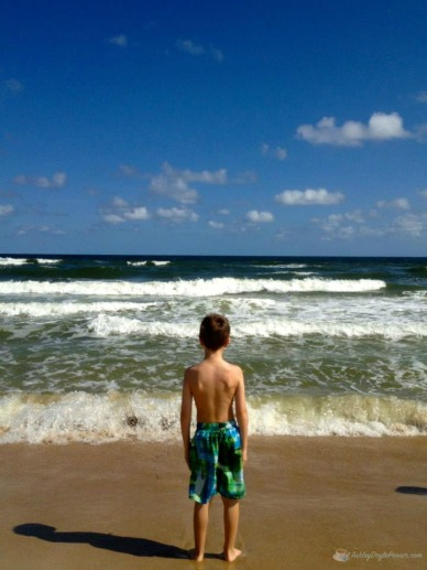 caleb 10 years beach